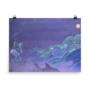 Nicholas Roerich - Oirot messenger of the White Burkhan