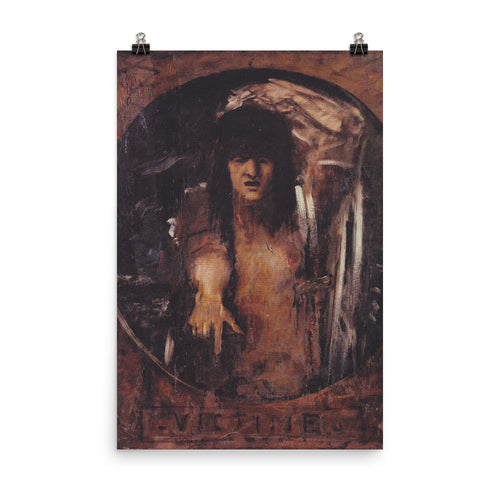 Gustave Moreau - Victim - painting