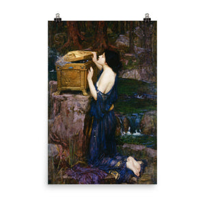 John William Waterhouse - Pandora - painting
