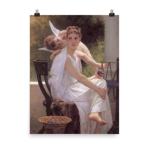 William-Adolphe Bouguereau - Work Interrupted