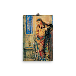 Gustave Moreau - The Toilette (Grooming)