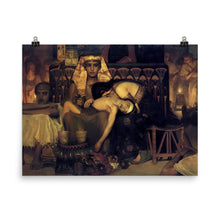 Load image into Gallery viewer, Lawrence Alma-Tadema - Death of the Pharaoh's Firstborn Son (V2)