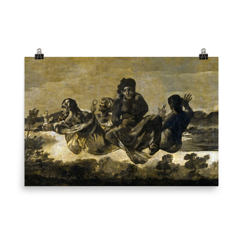 Francisco Goya - Atropos - painting