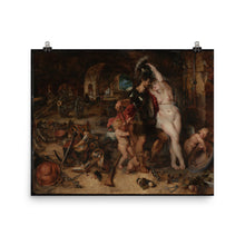Load image into Gallery viewer, Peter Paul Rubens - The Return from War - Mars Disarmed by Venus