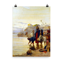 Load image into Gallery viewer, Charles Wilda - Washerwomen on the Nile