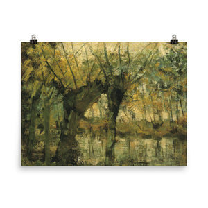 Piet Mondrian - Willow Grove - Impression of Light and Shadow