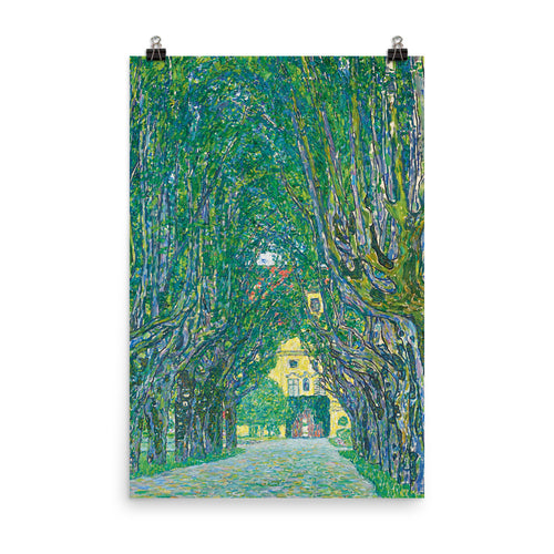 Gustav Klimt - Avenue in the Park of Schloss Kammer