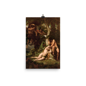 Alexandre Cabanel - Expulsion of Adam and Eve; Paradise Lost