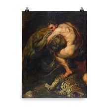 Load image into Gallery viewer, Peter Paul Rubens - hercules and the nemeo lion
