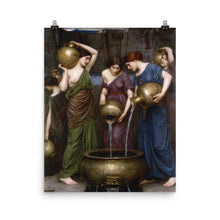Load image into Gallery viewer, John William Waterhouse - The Danaides - painting