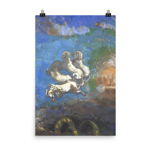 Odilon Redon - Chariot of Apollo