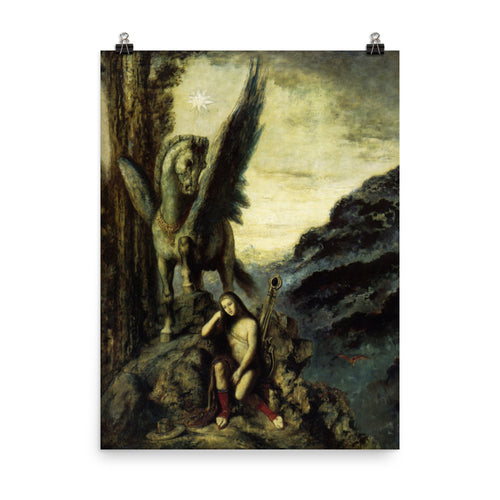 Gustave Moreau - The travelling poet