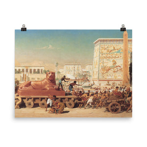 Edward Poynter - Israel in Egypt