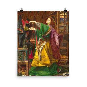 Frederick Sandys - Morgan le Fay - painting
