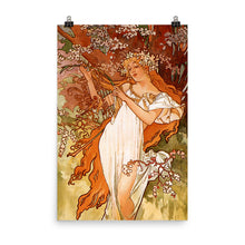Load image into Gallery viewer, Alphonse Mucha - Four Seasons - Spring
