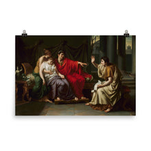 Load image into Gallery viewer, Jean Baptiste Joseph Wicar - Virgil Reading the 'Aeneid' to Augustus, Octavia, and Livia