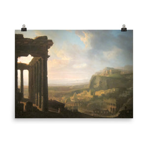 John Martin - Ruins of an Ancient City