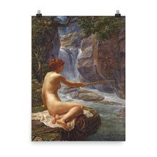 Load image into Gallery viewer, Edward Poynter - A nymph of the creek