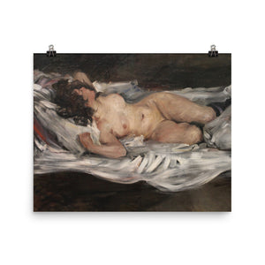 Lovis Corinth - Lying female