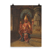 Load image into Gallery viewer, Vasily Vereshchagin - Vishnu Statue at Indra Temple in Ellora