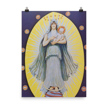 Load image into Gallery viewer, John Augustus Knapp - Celestial Virgin with Sun God in her arms