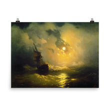 Load image into Gallery viewer, Ivan Aivazovsky - Stormy sea at night