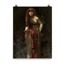 Load image into Gallery viewer, John Collier - The Priestess of Delphi - painting