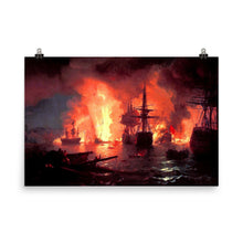 Load image into Gallery viewer, Ivan Aivazovsky - Battle of Chesma