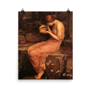 John William Waterhouse - Psyche opening the golden box - painting