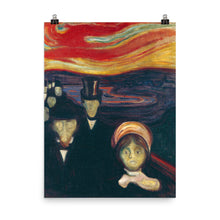 Load image into Gallery viewer, Edvard Munch - Anxiety - painting