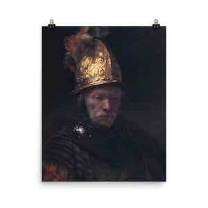 Rembrandt Harmensz van Rijn - The Man with the Golden Helmet