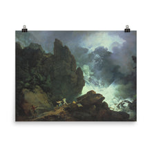 Load image into Gallery viewer, Phillip James De Loutherbourg - An Avalanche in the Alps