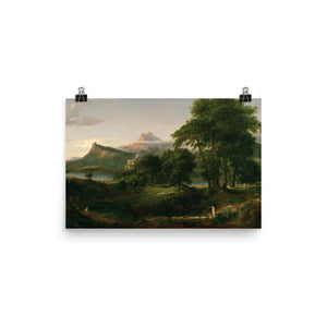 Thomas Cole - The Course of Empire - The Arcadian or Pastoral State