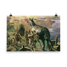 Load image into Gallery viewer, Lovis Corinth - The Trojan horse