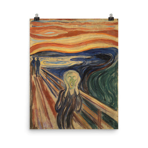 Edvard Munch - The Scream - painting