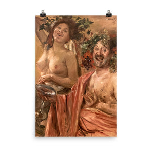 Lovis Corinth - Bacchian couple