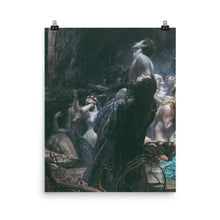 Load image into Gallery viewer, Adolf Hirémy-Hirschl - The Souls of Acheron (Left Panel)