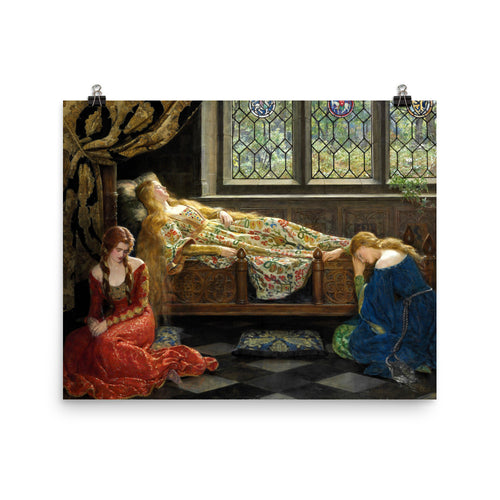 John Collier - The sleeping beauty