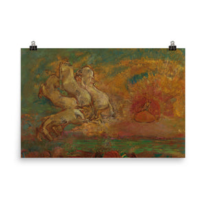 Odilon Redon - Apollo's Chariot and the Dragon