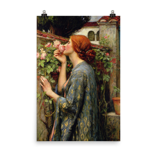 John William Waterhouse - The Soul of the Rose -painting