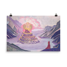 Load image into Gallery viewer, Nicholas Roerich - Nagarjuna Conqueror of the Serpent