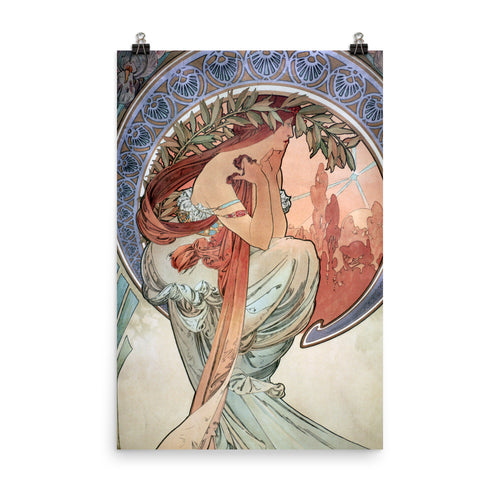 Alphonse Mucha - The Arts - Poetry