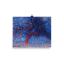 Load image into Gallery viewer, Piet Mondrian - The Red Tree - Evening