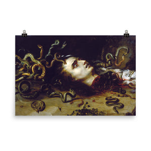 Peter Paul Rubens - The Head of Medusa - painting