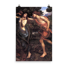 Load image into Gallery viewer, John William Waterhouse - Apollo and Daphne
