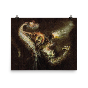 Alfred Kubin - Witch And The Watersnake