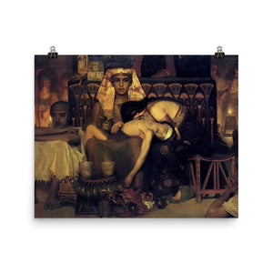 Lawrence Alma-Tadema - Death of the Pharaoh's Firstborn Son (V2)