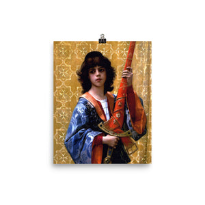 Alexandre Cabanel - The Sword-Bearing Page