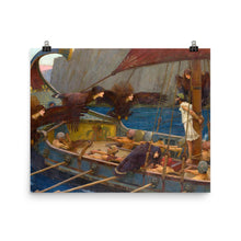 Load image into Gallery viewer, John William Waterhouse - Ulysses and the Sirens - painting
