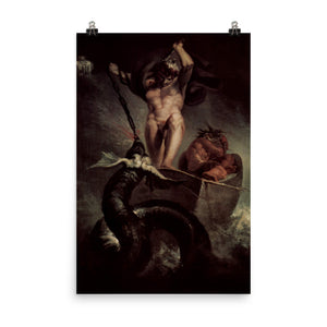 Henry Fuseli - Thor Battering the Midgard Serpent